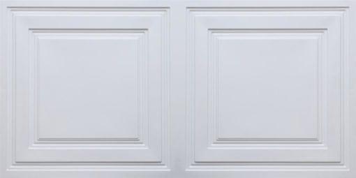8232 Faux Tin Ceiling Tile - White Pearl