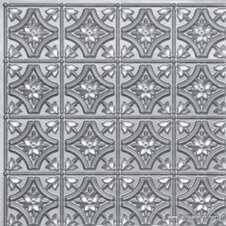 150 Silver Faux Tin Ceiling Tile