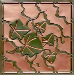 202 Patina Copper Faux Tin Ceiling Tile