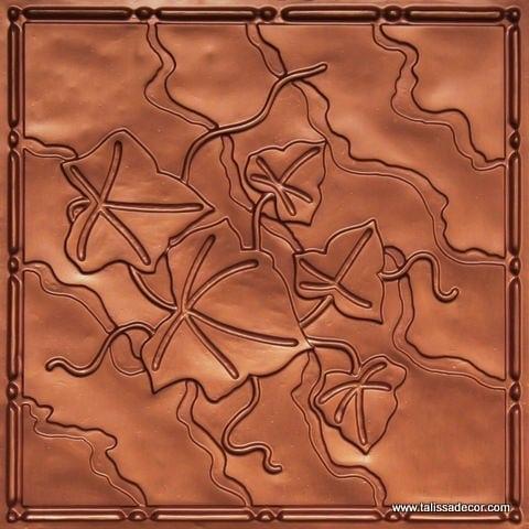 202 Copper Faux Tin Ceiling Tile