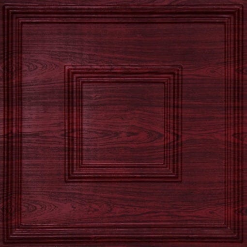 208 Rosewood Faux Tin Ceiling Tile