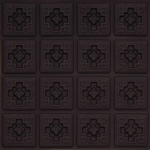 103 Black Matte  Faux Tin Ceiling Tile
