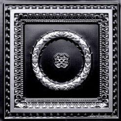 210 Antique Silver Faux Tin Ceiling Tile