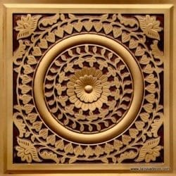 211 Antique Gold Faux Tin Ceiling Tile