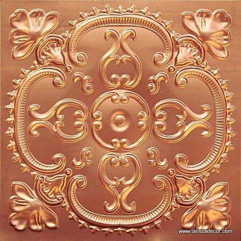 217 Copper Faux Tin Ceiling Tile