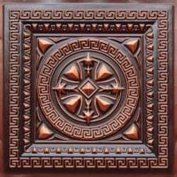 220 Antique Copper Faux Tin Ceiling Tile