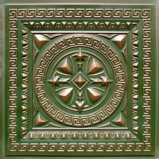 220 Patina Copper Faux Tin Ceiling Tile