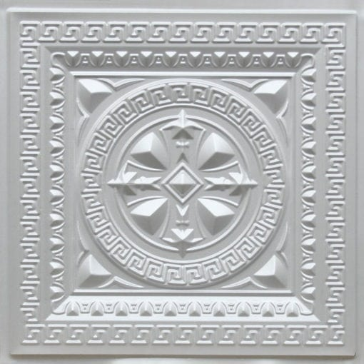 220 White Pearl Faux Tin Ceiling Tile