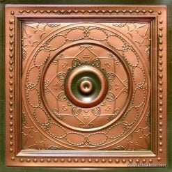 221 Patina Copper Faux Tin Ceiling Tile