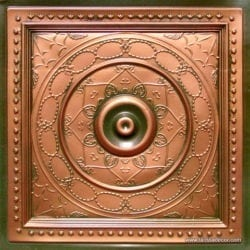 221 Patina Copper Faux Tin Ceiling Tile