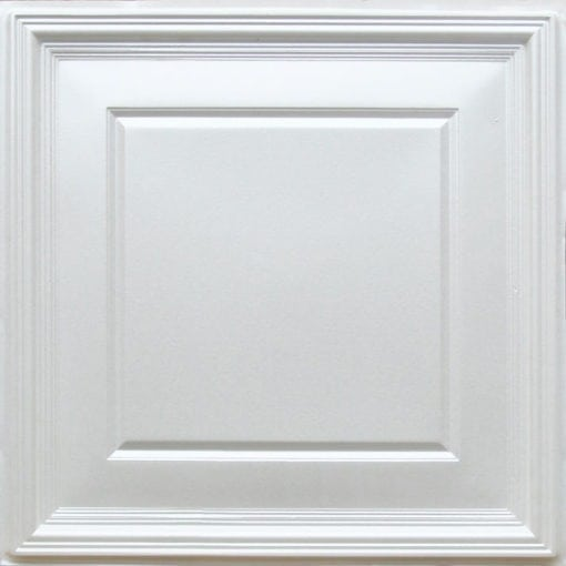 224 White Pearl Faux Tin Ceiling Tile