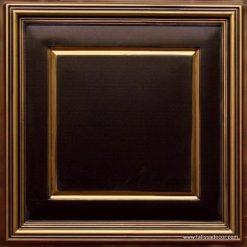 224 Antique Gold Faux Tin Ceiling Tile