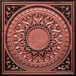 226 Antique Copper Faux Tin Ceiling Tile