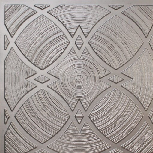 228 Silver Faux Tin Ceiling Tile