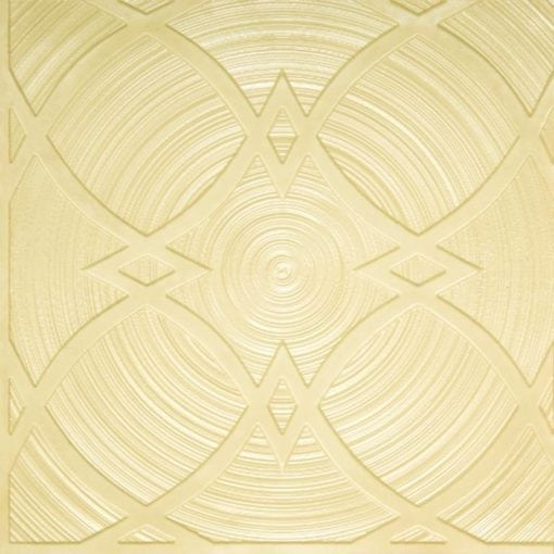 228 Cream Pearl Faux Tin Ceiling Tile