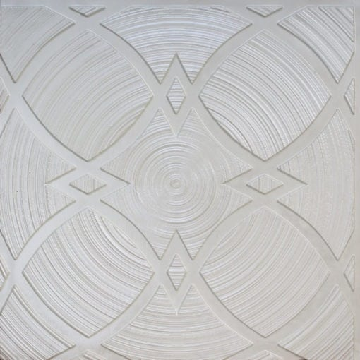 228 White Pearl Faux Tin Ceiling Tile
