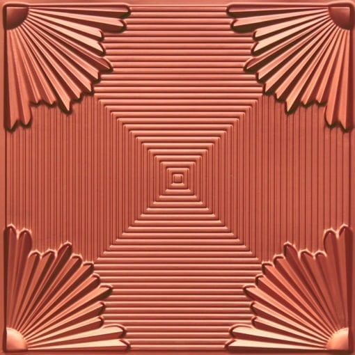 229 Copper Faux Tin Ceiling Tile