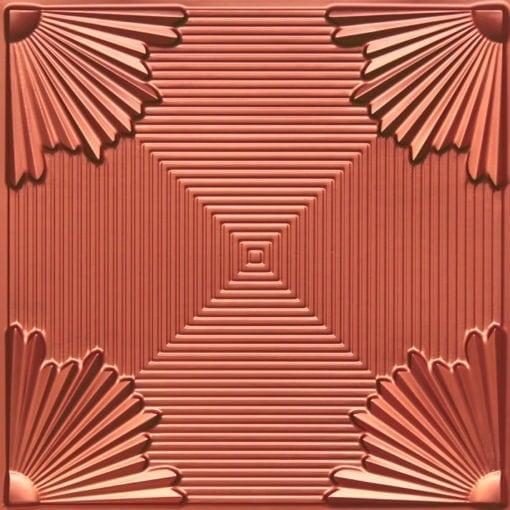 229 Copper Faux Tin Ceiling Tile