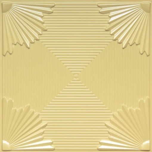 229 Cream Pearl Faux Tin Ceiling Tile