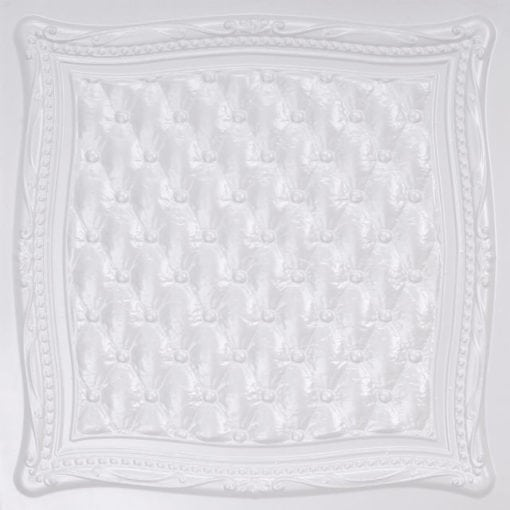 230 White Pearl Faux Tin Ceiling Tile