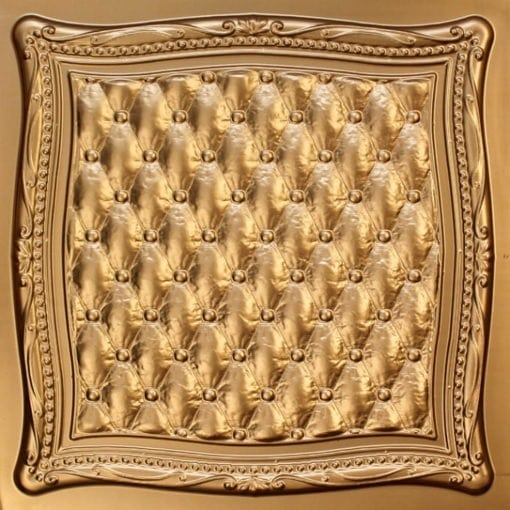 230 Gold Faux Tin Ceiling Tile
