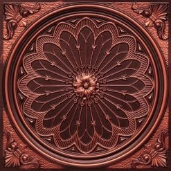 238 Antique Copper Faux Tin Ceiling Tile
