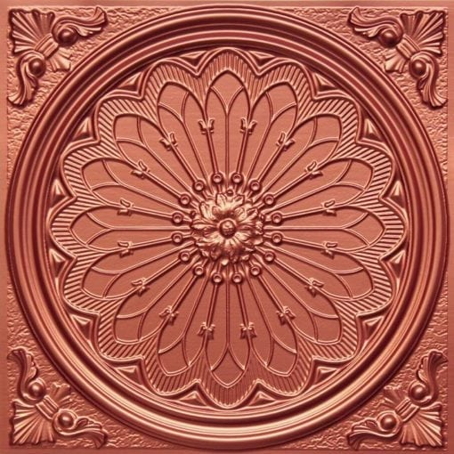 238 Copper Faux Tin Ceiling Tile