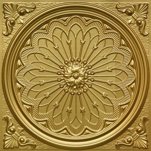 238 Brass Faux Tin Ceiling Tile