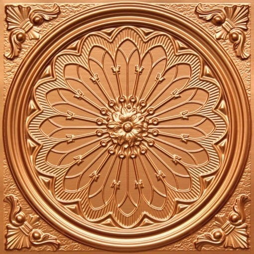238 Gold Faux Tin Ceiling Tile