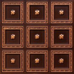 239 Antique Gold Faux Tin Ceiling Tile
