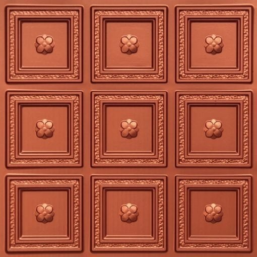 239 Copper Faux Tin Ceiling Tile