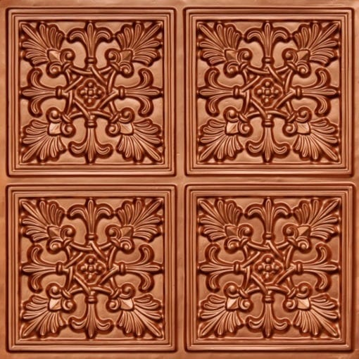 401 Copper Faux Tin Ceiling Tile