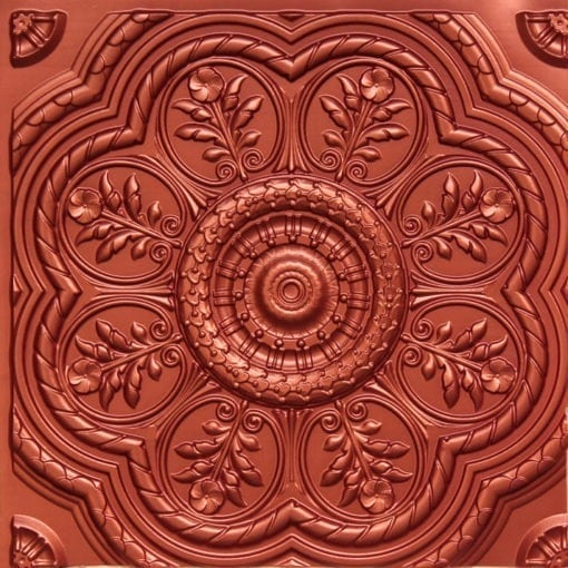 240 Copper Faux Tin Ceiling Tile