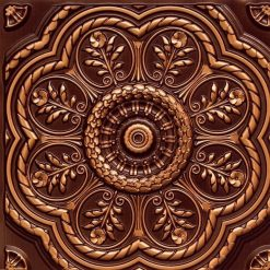 240 Antique Gold Faux Tin Ceiling Tile