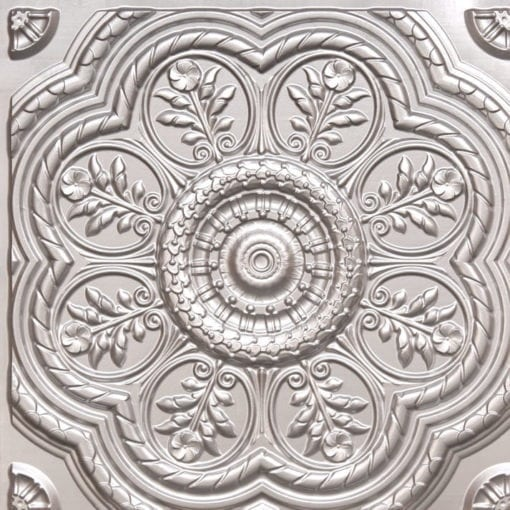 240 Silver Faux Tin Ceiling Tile