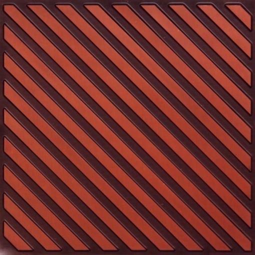 241 Antique Copper Faux Tin Ceiling Tile