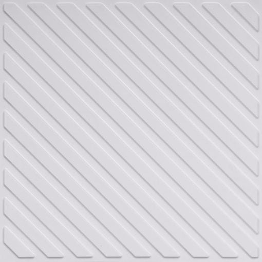 241 White Pearl Faux Tin Ceiling Tile