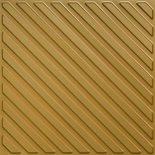 241 Brass Faux Tin Ceiling Tile