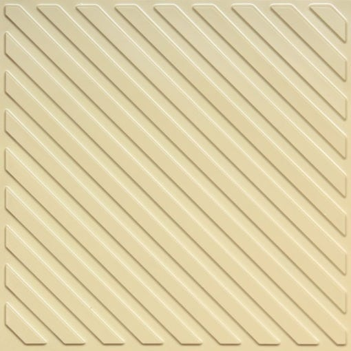 241 Cream Pearl Faux Tin Ceiling Tile