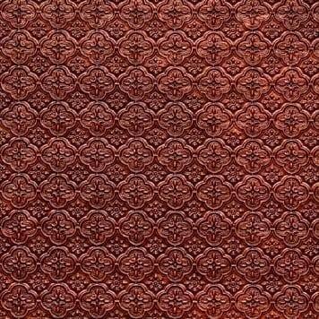WC20 Faux Tin Backsplash Rol - Antique Copper