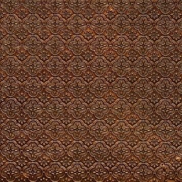 WC20 Faux Tin Backsplash Roll - Antique Gold