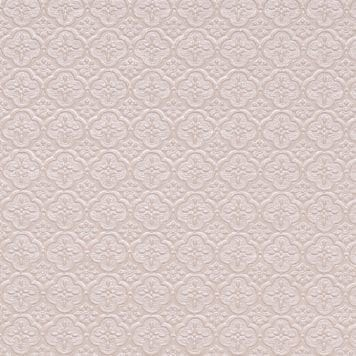 WC20 Faux Tin Backsplash Roll - White Pearl