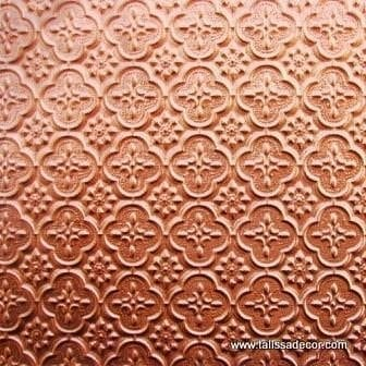 WC20 Faux Tin Backsplash Roll - Copper
