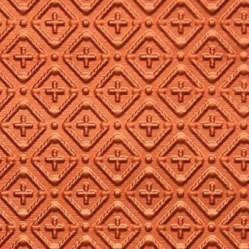 WC70  Faux Tin Backsplash Roll - Copper