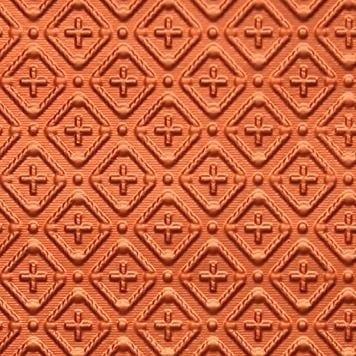 WC70  Faux Tin Backsplash Roll - Copper