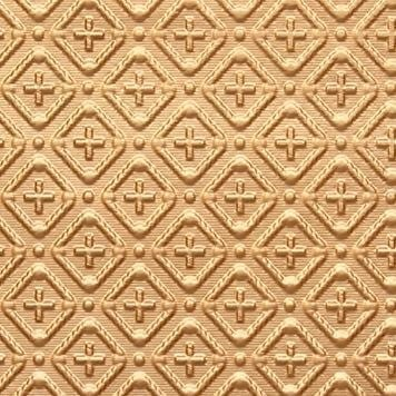 WC70  Faux Tin Backsplash Roll - Gold