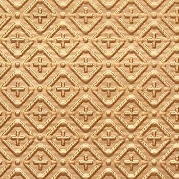 WC70  Faux Tin Backsplash Roll - Gold