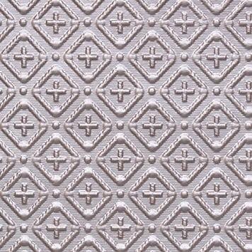 WC70  Faux Tin Backsplash Roll - Silver