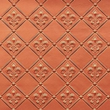 WC80  Faux Tin Backsplash Roll - Copper