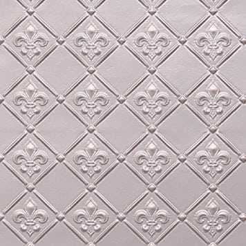 WC80 Faux Tin Backsplash Roll - Silver